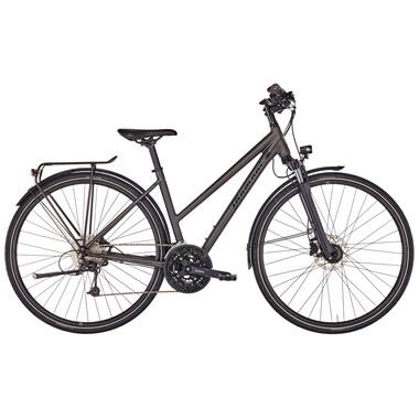 Vélo de Voyage DIAMANT ELAN LEGERE TRAPEZ Femme Noir/Bleu 2020